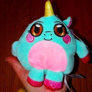 Mush Meez squishy soft plush unicorn New